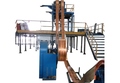 copper belt continuous casting machine equipment