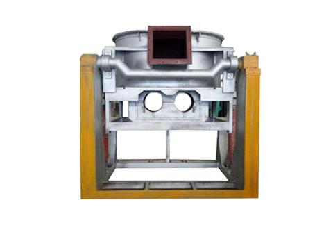 Induction tilting furnace
